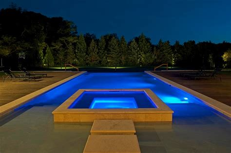 Led Lights Bedroom - modern tuscan estate modern pool new york by perello building corporation