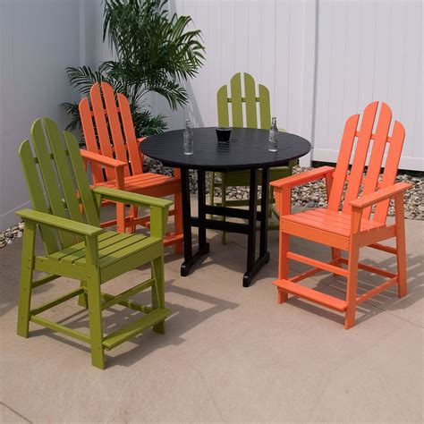 polywood long island counter chair long island