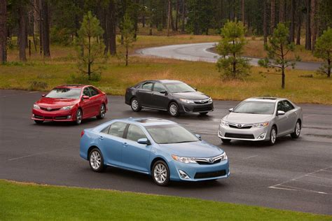 toyota cars in america toyota camry named most dependable vehicle in america