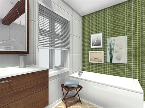tile accent wall bathroom bathroom ideas roomsketcher