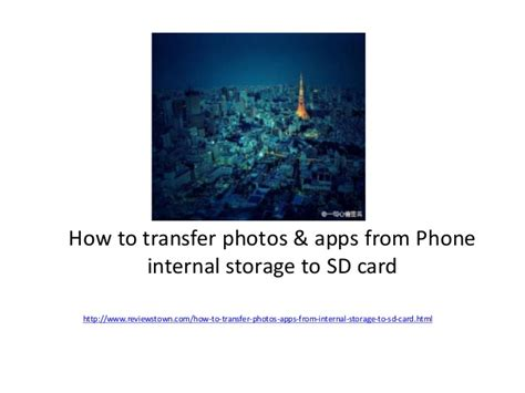 how to make apps to sd card how to transfer photos and apps from phone internel