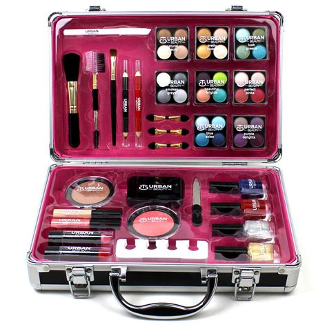 Cosmetics Hers Set B professional vanity cosmetic make up box gift set 57 black