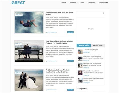 50 Best Responsive Wordpress Themes Templates Design Theme Free Responsive Magazine