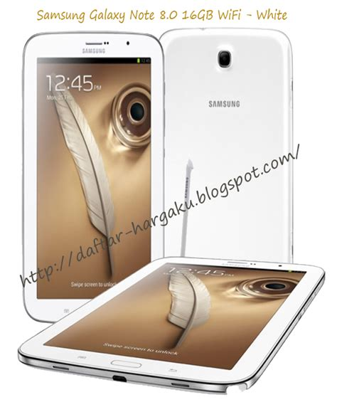 Harga Samsung Galaxy Note 8 S Pen info harga samsung galaxy note 8 0 16gb wifi white