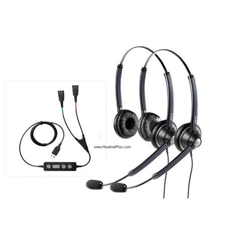 Jabra Link 265 Usb To 2x Qd Cables plantronics jabra using softphone usb computer headsets headsetplus plantronics