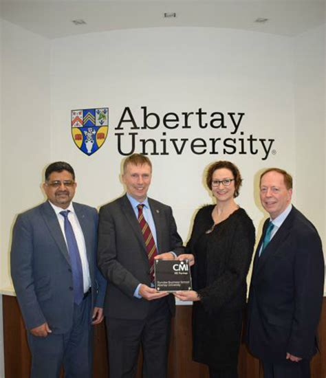 Dundee Mba by News Abertay News Abertay