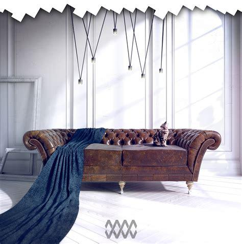 free chesterfield sofa chesterfield sofa free 3d model on behance