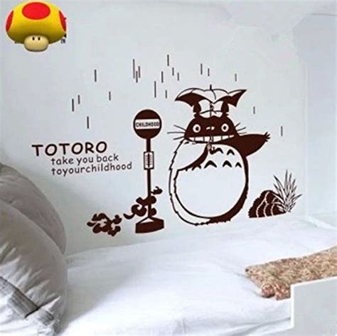 totoro home decor 17 best images about детская аниме on headphones wall decor and wall