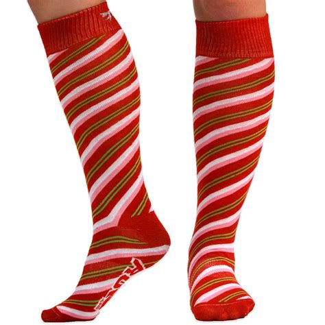 Bow Knee High Socks with bow running knee high socks for a run