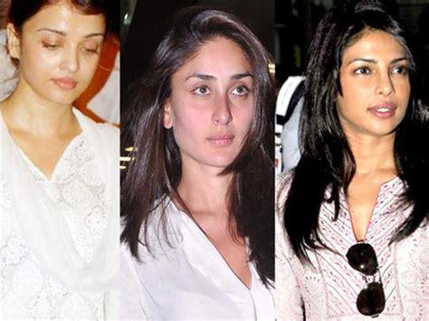 bina makeup ki heroine ki photos aishwarya kareena katrina who looks better without
