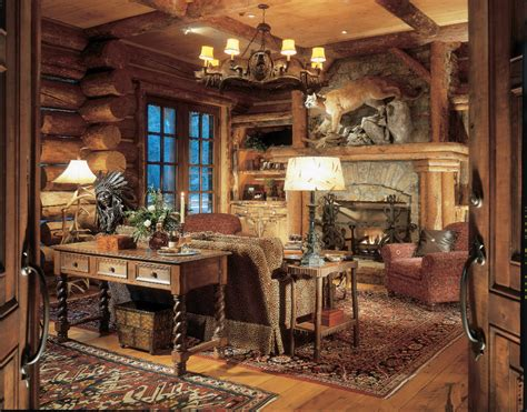Marvelous Rustic Lodge Cabin Home Decor Decorating Ideas Home Design And Decor