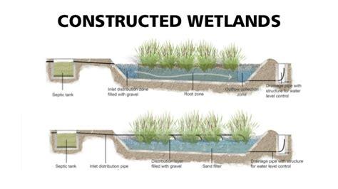 design criteria of a constructed wetlands constructed wetlands water harvesting pinterest