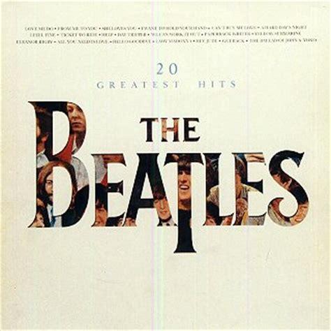 beatles best album 20 greatest hits beatles album