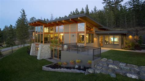 modern mountain house designs build with natural material modern mono pitch roof timber frame daizen joinery work