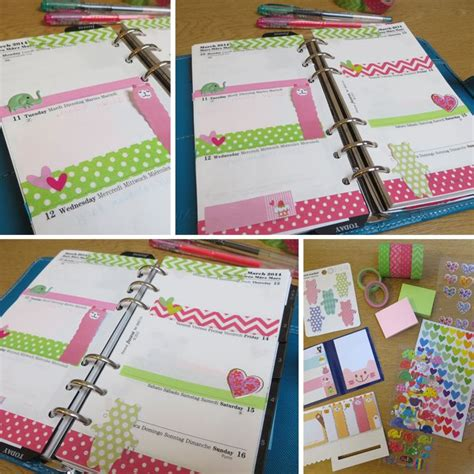 Decorating Filofax by 17 Best Images About Napl 243 Teend蜻k On Free