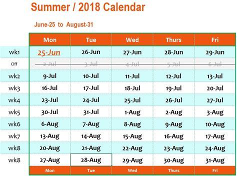 Calendar 2018 Summer Storming Robots Robotics Ai Oriented Programs Calendar
