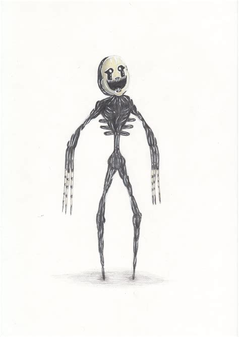 how to draw doodle 4 drawing nightmarionne fnaf 4 by letisdothis on deviantart