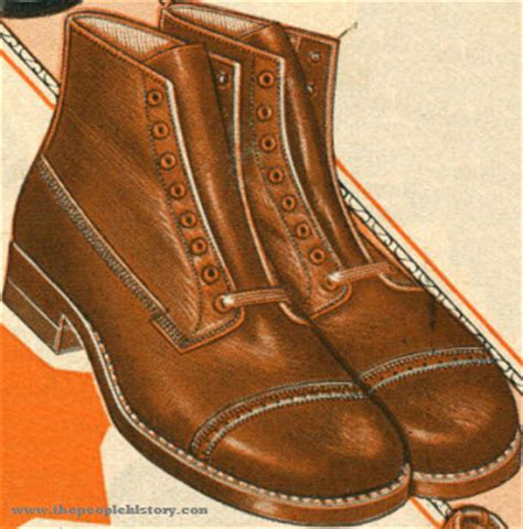 Army Pattern Shoes | 1924 fashion accessories with pictures and prices