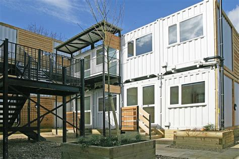 emergency housing in atlanta shipping containers transform into emergency housing for