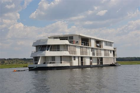 houseboat zambezi queen staying aboard the zambezi queen houseboat travel yourself