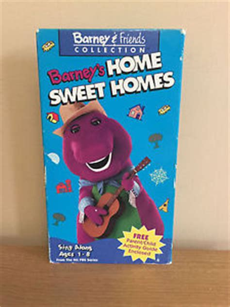 barney friends collection barney s home sweet homes vhs