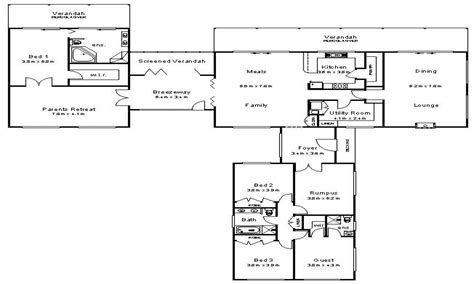 australian beach house floor plans australian house plans australian colonial house plans