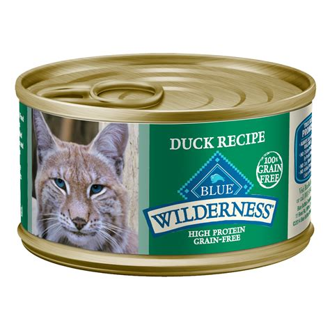 blue buffalo canned food blue buffalo wilderness duck canned cat food petco