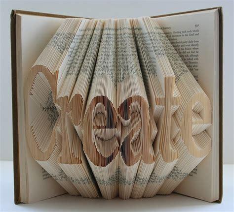 Book Folding Origami - design practice book folding