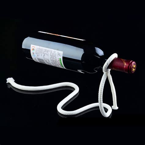 Creative Suspension Chain Wine Rack Rak Rantai Anggur magic rope wine bottle holder ships free 13 deals
