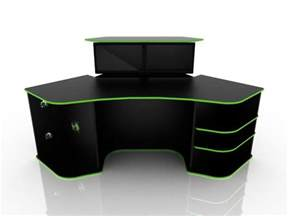 Pc Chair Design Ideas Corner Computer Desk For Gaming Black Color With Green Homefurniture Org