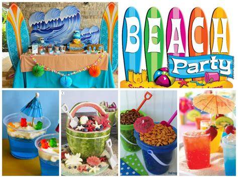 ideas  una fiesta playera beachpartyideas