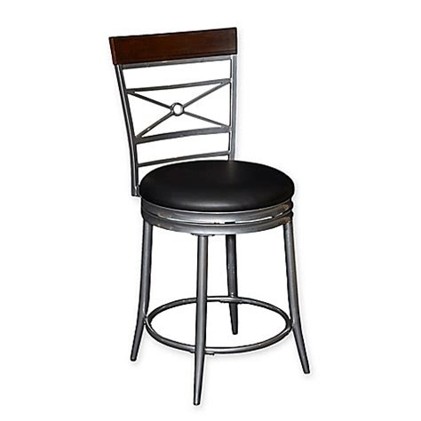 Big And Counter Stools by Rory Big Counter Stool In Black Bed Bath Beyond