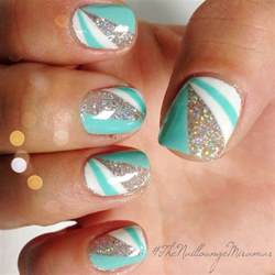 color block gel nail art nail art pinterest summer