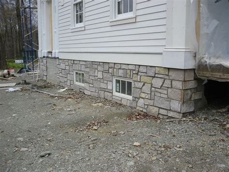 foundation veneer exterior home