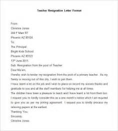 resignation letter format for new resignation letter template 28 free word pdf documents