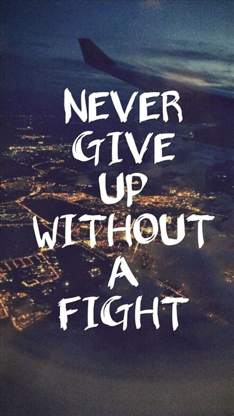 give    fight inspiring iphone