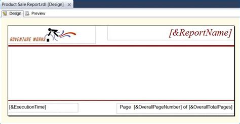 creating a custom report template in ssrs