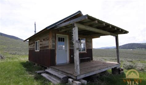 one room cabins for sale off grid tiny cabin on 35 montana acres