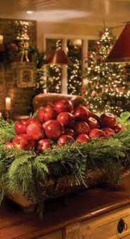 beautiful way to display apples christmas decorating 45 most pinteresting rustic christmas decorating ideas