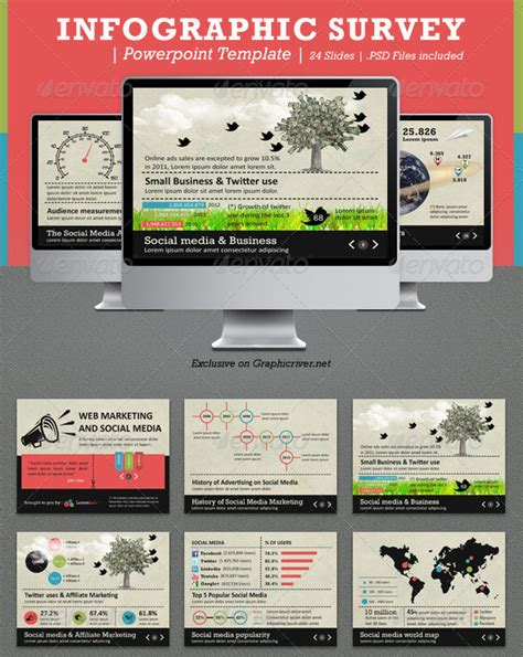 indesign powerpoint template 17 cool infographic design