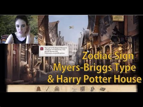 house mbti harry potter house zodiac sign myers briggs type youtube