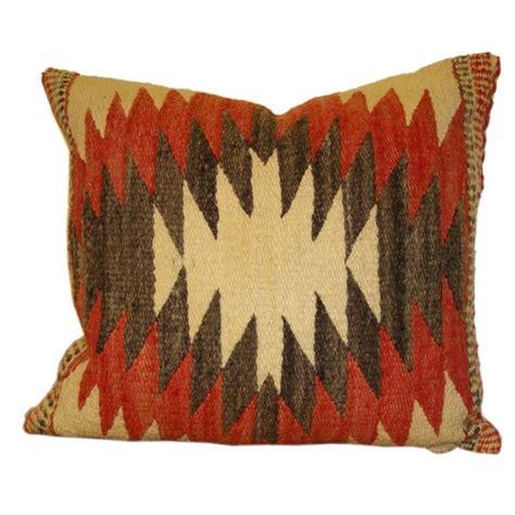 Navajo Pillows 1930 s navajo weaving pillow w linen backing at 1stdibs