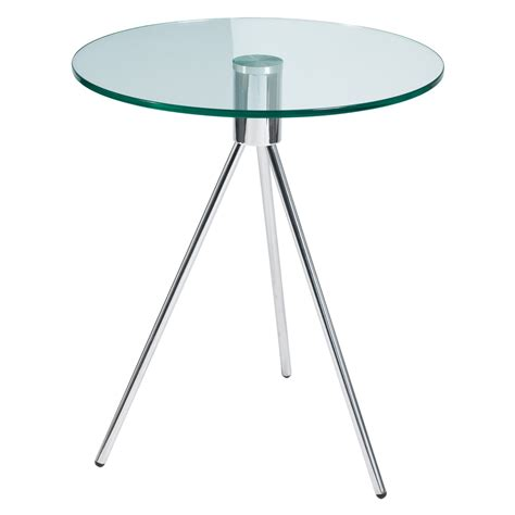 Glass Side Table Modern Furniture Home Accessories Designer Interior Dwell
