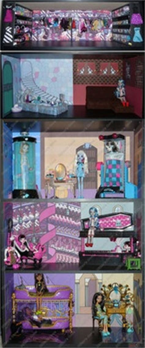 monster high doll house ebay 17 best images about monster high mansion on pinterest