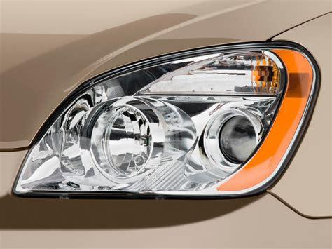 kia rondo headlight image 2009 kia rondo 4 door wagon v6 lx headlight size