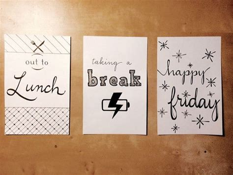 printable on lunch sign 5x7 by dblpapery on etsy 5 dollars