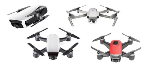 dji mavic air  mavic pro  spark  walkera peri