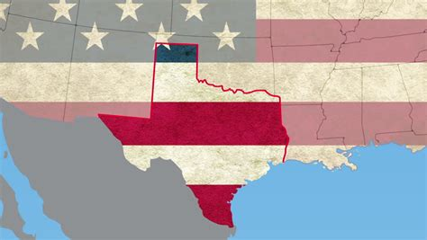 texas map flag texas flag stock footage