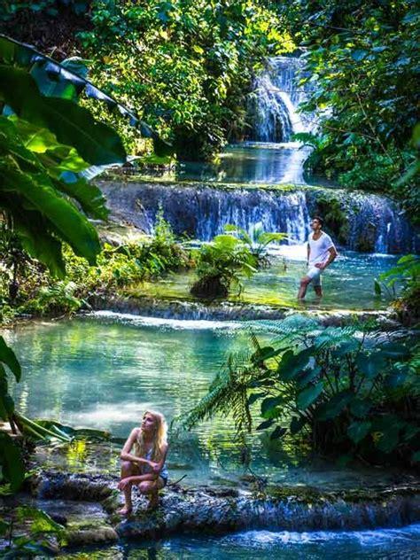 mele cascades  waterfalls  efate vanuatu photo