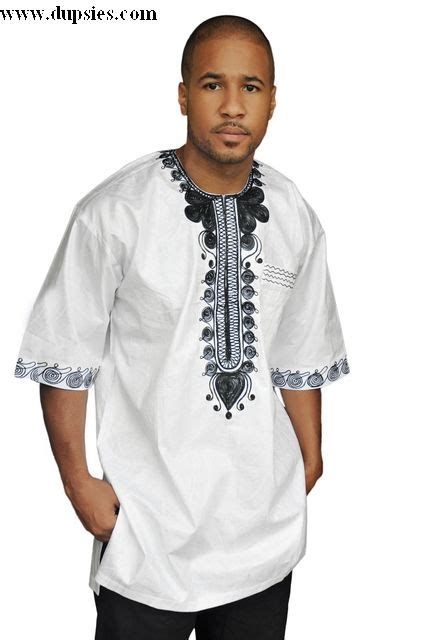 brocade styles for men men s white african outfits white brocade dashiki shirt